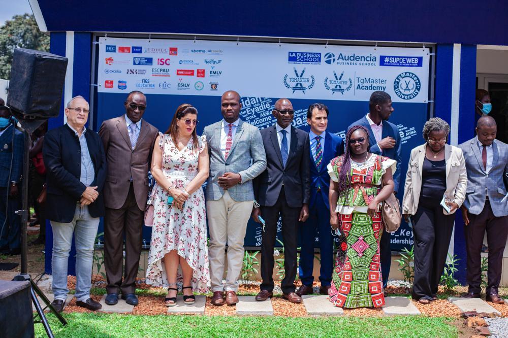 Inauguration du Campus de TgMaster University à Abidjan - Abidjan.net News